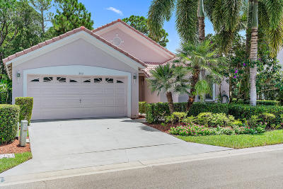 Palm Beach Gardens Single Family Home For Sale: 404 Woodview Circle