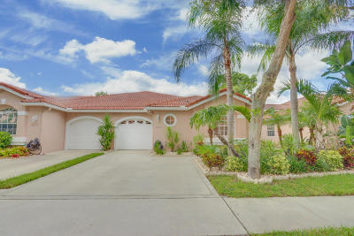 Boca Raton Single Family Home For Sale: 8273 Via Di Veneto