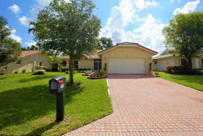 Boca Raton Single Family Home For Sale: 7897 Cloverfield Circle