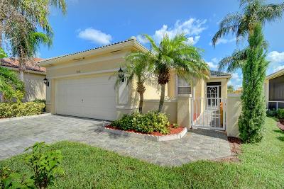 Delray Beach Single Family Home Contingent: 7045 Del Corso Lane