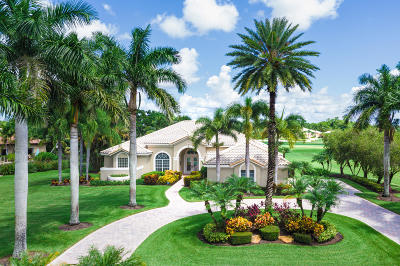 Palm Beach Gardens Single Family Home For Sale: 8181 Woodsmuir Drive
