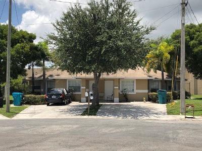 Boynton Beach Multi Family Home For Sale: 550 NW 13th Avenue #A