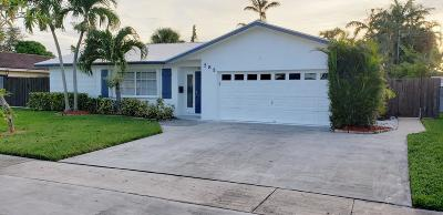 Boca Raton Single Family Home For Sale: 585 NW 15th Court