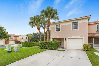 Lake Worth Townhouse For Sale: 5315 Pine Meadows Road