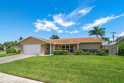 Boca Raton FL Single Family Home For Sale: $479,000