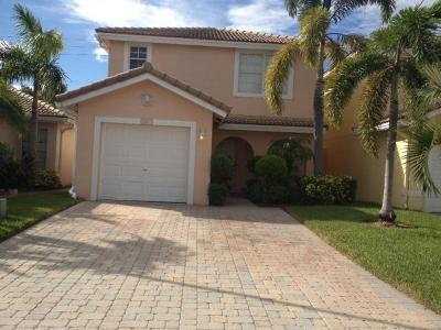 West Palm Beach Single Family Home For Sale: 3457 Commodore Court