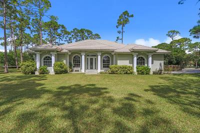 Loxahatchee Single Family Home For Sale: 8699 Seminole Pratt Whitney Road