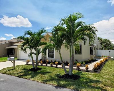 Boynton Beach Single Family Home For Sale: 1 Hawthorne Lane