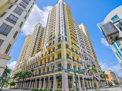 West Palm Beach Condo For Sale: 701 S Olive Avenue #1918