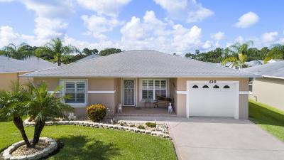 Single Family Home For Sale: 619 Paurotis Lane