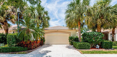 West Palm Beach Single Family Home For Sale: 9066 Bay Point