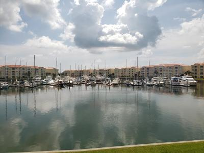 Fort Pierce Condo For Sale: 11 Harbour Isle Drive W #205