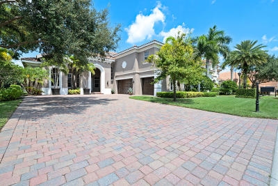 Palm Beach Gardens Single Family Home For Sale: 4131 Venetia Way