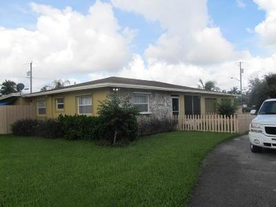 Boynton Beach Single Family Home For Sale: 1323 NW 8th Court
