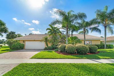 Boca Raton Single Family Home For Sale: 22120 Serenata Circle E