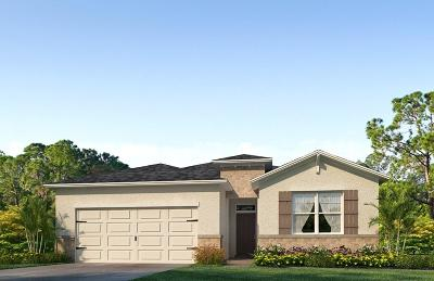 St Lucie County Single Family Home Contingent: 10529 SW Toren Way