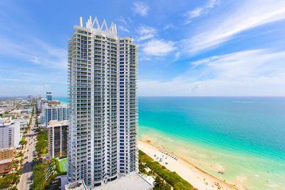 Miami-Dade County Condo For Sale: 6365 Collins Avenue #1201