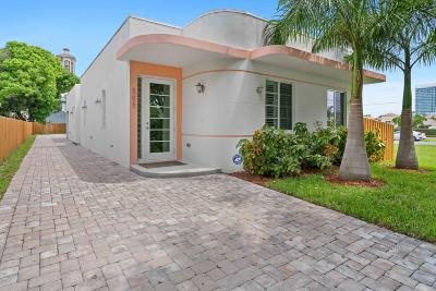 West Palm Beach Single Family Home For Sale: 505 Street