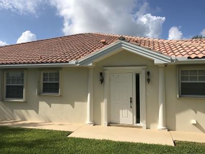 Wellington Single Family Home For Sale: 8233 Cozumel Lane
