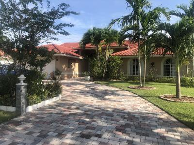 Broward County Single Family Home For Sale: 9957 NW 47th Street