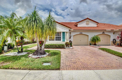 Delray Beach Single Family Home For Sale: 15319 Lake Wisteria Road