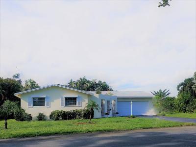 Boynton Beach Single Family Home For Sale: 405 Chapel Hill Blvd Boulevard