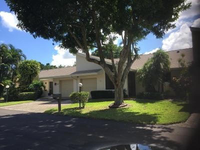Lake Worth Single Family Home For Sale: 6998 Quince Lane