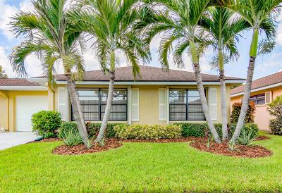 Boynton Beach Single Family Home For Sale: 9995 Orchid Tree Trail #B