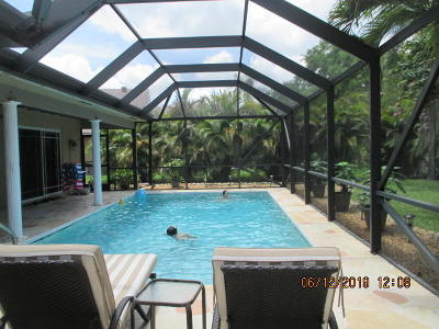Boca Raton Single Family Home For Sale: 20108 Back Nine Drive