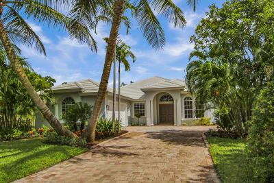 Tequesta Single Family Home For Sale: 10801 SE Arielle Terrace