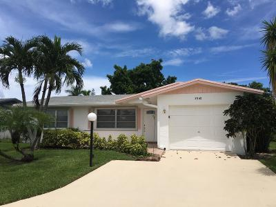 West Palm Beach Single Family Home For Sale: 3540 Joseph Drive