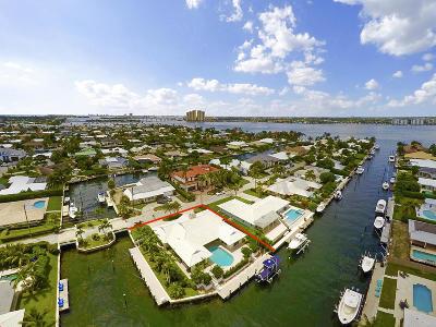 Singer Island Single Family Home For Sale: 1110 Grand Bahama Lane