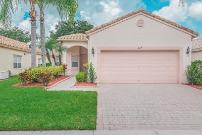 St Lucie County Single Family Home For Sale: 629 NW Whitfield Way