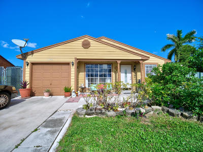 Royal Palm Beach Single Family Home For Sale: 1192 Stardust Way
