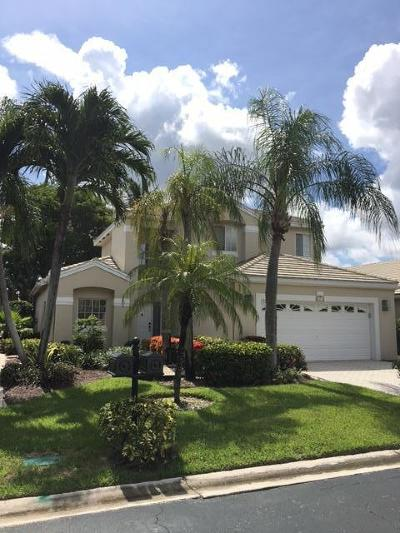 Boca Pointe Single Family Home For Sale: 7877 Travelers Tree Drive