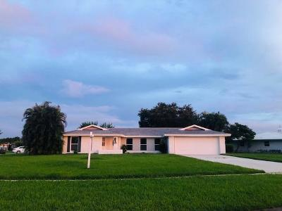 St Lucie County Single Family Home For Sale: 2931 SE Santa Anita Street