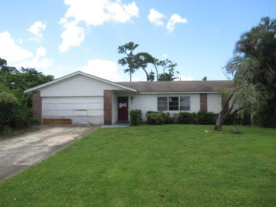 Lake Worth Single Family Home For Sale: 86 W Mango Road
