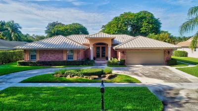 Palm Beach County Single Family Home For Sale: 2840 Banyan Boulevard Circle