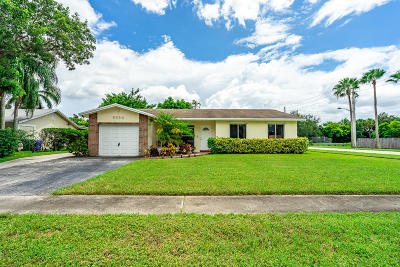 Broward County Single Family Home Contingent: 8594 NW 3rd Street