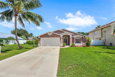 Jupiter Single Family Home For Sale: 6415 Mullin Street