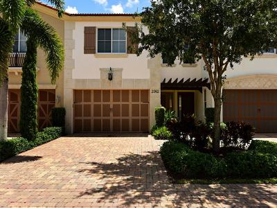 West Palm Beach Townhouse For Sale: 2062 Foxtail View Court