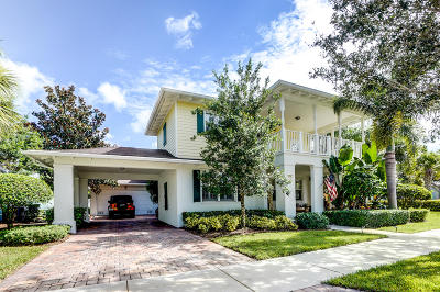 Jupiter Single Family Home For Sale: 1701 W Community Drive