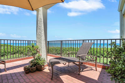Martin County Condo For Sale: 4751 NE Ocean Boulevard #10
