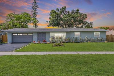 Hollywood Single Family Home For Sale: 3415 Arthur Street