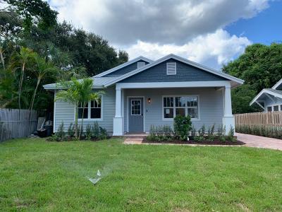 West Palm Beach Single Family Home For Sale: 721 Newark Street