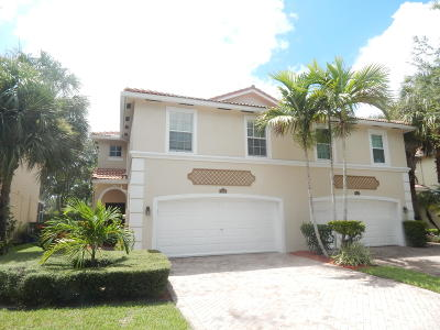 West Palm Beach Townhouse For Sale: 9109 Villa Palma Lane