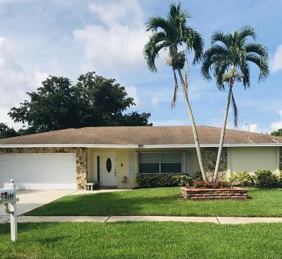Boca Raton Single Family Home For Sale: 6184 Royal Lytham Drive