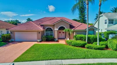 Boca Raton Single Family Home For Sale: 22341 Kettle Creek Way