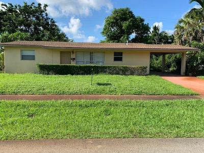 Broward County Single Family Home For Sale: 3820 NW 8th Street