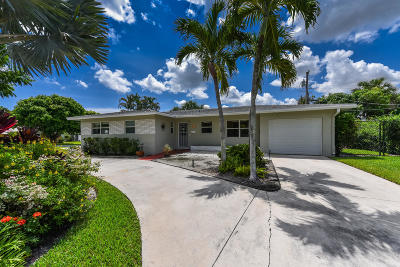North Palm Beach Single Family Home For Sale: 500 Captains Road